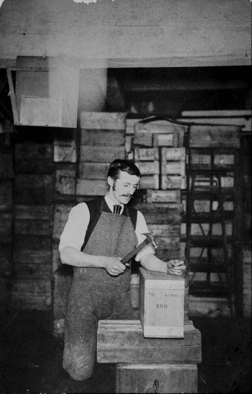 Edgar B. Dolbier at the Stanley Dry Plate Company