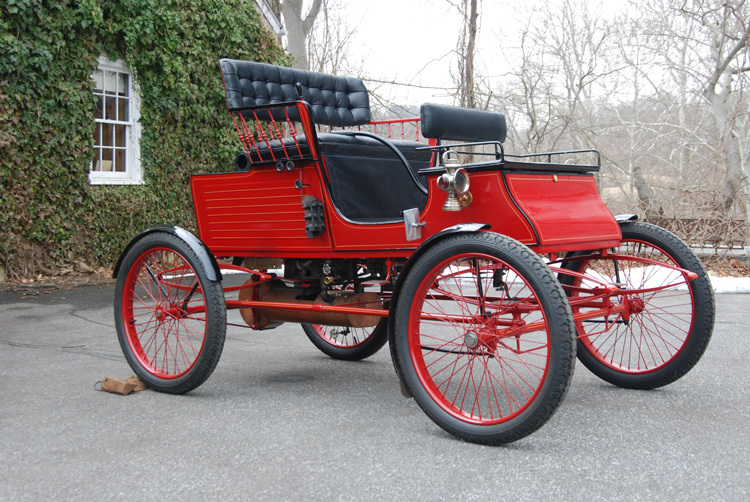 1902 Stanley Stick Seat Runabout