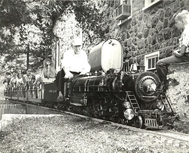 T. Clarence Marshall on #401 engine