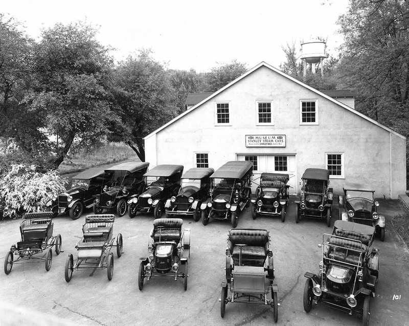 Marshall steam car collection and museum, 1949
