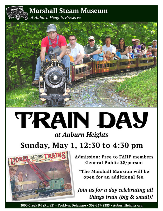 2016 Train Day promotional poster