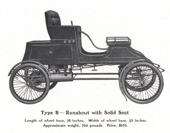 1903 Stanley Type B Runabout