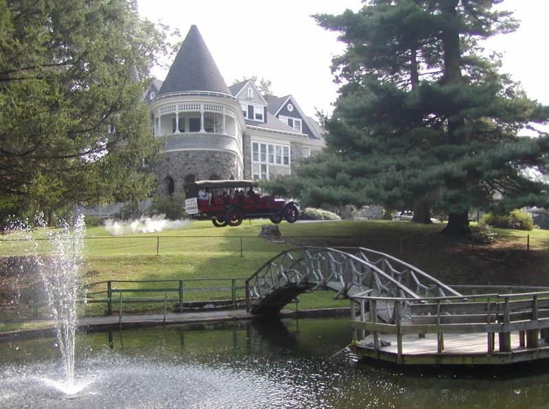 Auburn Heights Mansion with Mountain Wagon