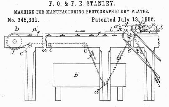 1886 Plate Coating Patent