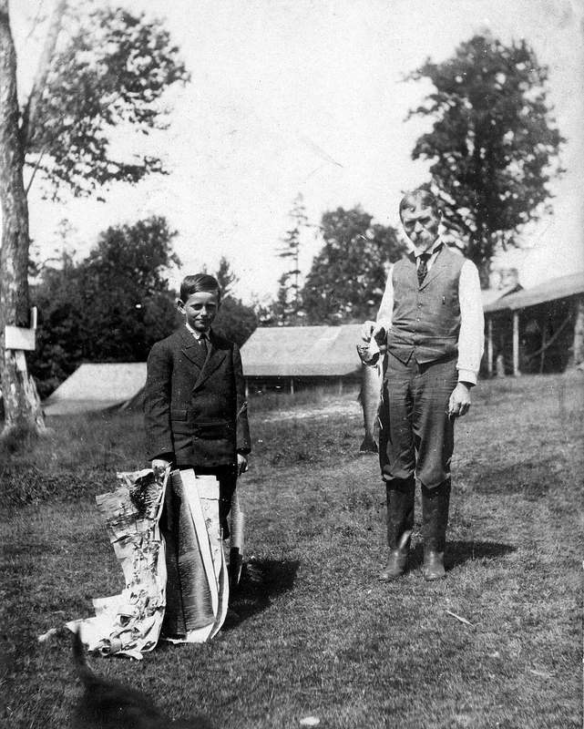 F.E. Stanley and Son, Raymond, at Tim Pond Camps, Eustis, Maine